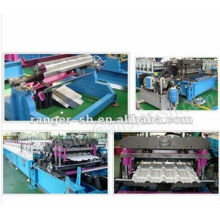 Glass tile roll forming machine