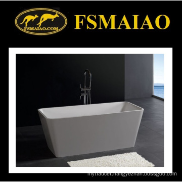 Rectangle Thin-Edage Freestanding Solid Surface Bathtub (BS-8603)
