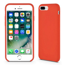 Red Liquid Silicone Rubber Protective Shell untuk iPhone8