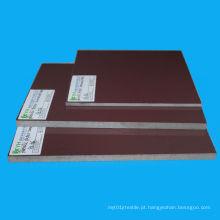 Folhas Phenolic laminadas de alta performance de Brown do plástico