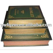 livro de armazenamento de madeira