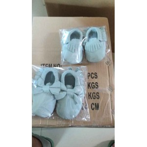 Quality Genuine Leather Baby Moccasins Shoes Wholesale