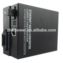10/100 / 1000M Single Mode Single Fiber Media Converter, convertisseur de média optique avec connecteur SC LC FC ST
