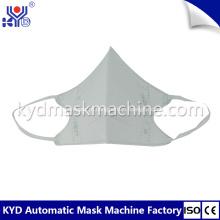 Máscara de dobramento não tecida descartável automática que faz a máquina