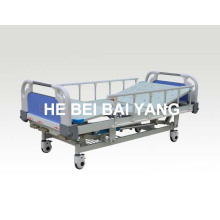(A-189) Lit de soins infirmiers à trois fonctions avec pot de chambre