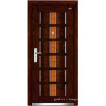 Стальные деревянные двери (LT-303)
