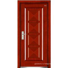 Стальные деревянные двери (LT-310)
