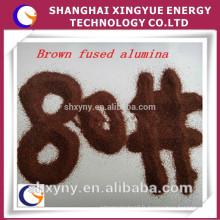 Prix d'usine de Whosales alumine fondue par Brown, corindon brun, matériel abrasif / réfractaire de haute catégorie