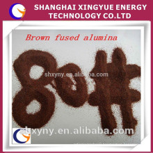 Whosales factory price Brown Fused Alumina, Brown Corundum,High Grade Abrasive/Refractory Material