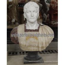 Каменная мраморная скульптура бюста головы для статуэтки статуэтки (SY-S309)