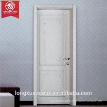 Porte intérieure en bois aménageable pour l'environnement, anneaux en nid d'abeille en aluminium solide et durable Intérieur et bordure en aluminium Cadres éco-portes