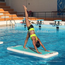 Спорта воды Раздувной плавая коврики для йоги АКВА-фитнес мат