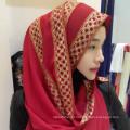 Hangzhou Fábrica mulheres hijab estilo Islâmico árabe uma peça hijab cachecol para a primavera