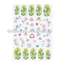 3D Nontoxic Nail Stickers