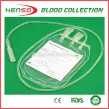 Henso bolsa de recogida de sangre única