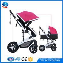 Prêmio de bonecas de qualidade melhor chegada nova para bebês, CE aprovado carrinho de passeio luva de luxo pram carrinho de borracha, diferencial de roda de borracha