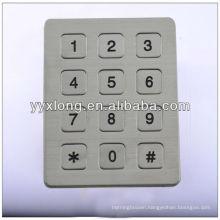 metal functional keypad big button keypad mobile phone with arabic keypad
