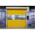 Puerta de persiana de PVC de acción rápida