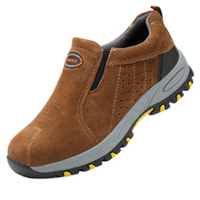 Steel toe  dual density pu sole safety boots