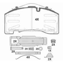 29171 peças sobresselentes da almofada de freio do reboque para BPW / SAF