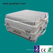 40dBm Lte700 + GSM850 + 1900 Amplificador de la señal del teléfono móvil / repetidor de la señal (GW-40LCP)