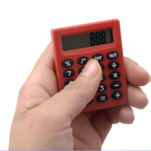 8 Digits Mini Square Pocket Calculator for kids