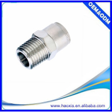 MPOC China manufactuer Brass pneumatic push lock tube fittings