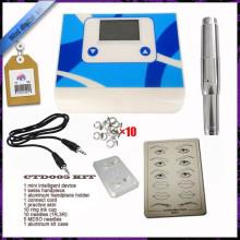 Цифровая постоянная машина татуировки власти, фабрика макияж тату ручка питания, вышивка макияж машины питания