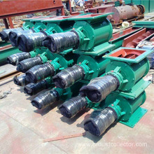 Low pressure Air lock rotary valve for silo
