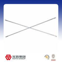 Barre transversale en acier galvanisée pour l'échafaudage de cadre