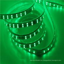 Luz de tira llevada impermeable flexible del rgb de 220V 110V 5050