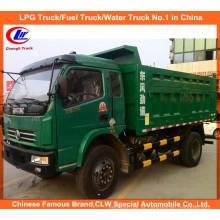 130HP 4 * 2 Mini 10ton 15ton 20ton caminhão basculante Dongfeng Dump Truck