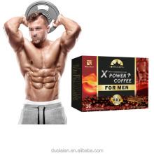 winstown Men's Kidney maca coffee enhances Instant black Private label long time male vitality coffee Man X power coffee