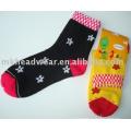 Hübsche Mädchen Jacquard gestrickt Socken
