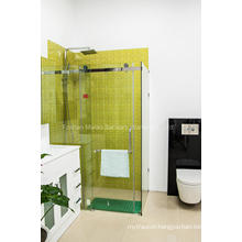 AS/NZS2208 Glass Bathroom Frameless Simple Shower Enclosure Room (H001E)