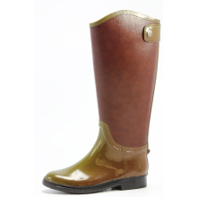 Women Rubber Boots Similar To Leather Shoes