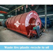 Único pneu / pneu Waste do laboratório 10T à energia do fuel-óleo para o aquecimento doméstico