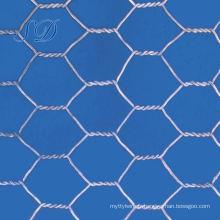 Cage à oiseaux hexagonale de cage d'oiseau de 1,28 mm