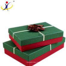 Accesorios de lujo de la bufanda del cartón cajas de embalaje de la caja de regalo para el día de fiesta de la Navidad