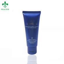 creme facial tipo cosmético tubo de plástico limpo tubo de lavagem de rosto claro