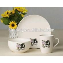 Conjunto de Pratos de Porcelana 18PCS