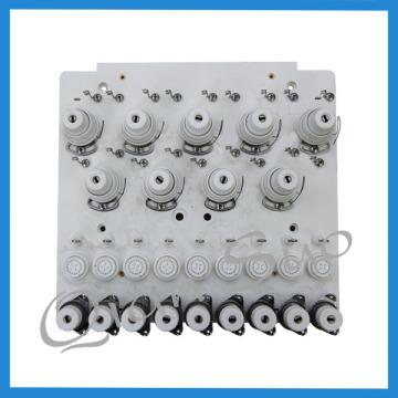 Placa de tensão da linha de peças de reposição de máquina de bordado