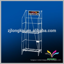 2 tiers made in china newspaper wire display stand