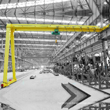Semi Gantry Crane with Electric Hoist