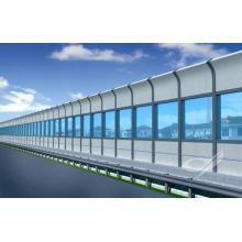 Schallmauer für den Straßenbau