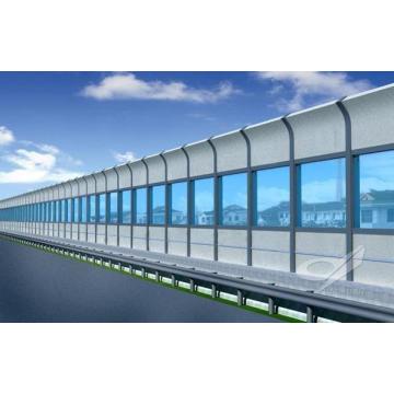 Barrera de sonido para la construcción de carreteras