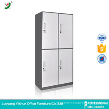 two color modern 4 door bedroom wardrobe Almirah Designs Steel Locker wardrobe