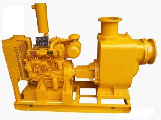 XBC diesel engine self-priming sewage pump 3