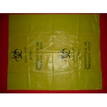 PE plástico saco de resíduos médicos