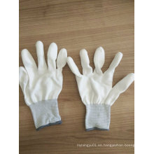 Pu punta PU PU guantes de trabajo de seguridad (PU011)